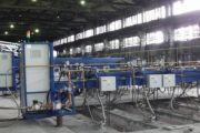Технологический процесс обжига анодов